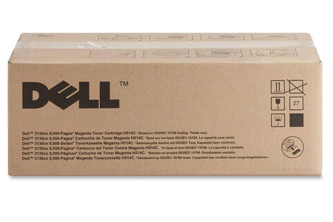 Dell 3130cn Black Toner - 9000 pg high yield H516C