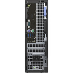 Dell OptiPlex 7050 Small Form Factor i7-7700 8GB 500GB AMD Radeon R5 Windows 10