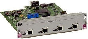 HP ProCurve Switch XL 100/1000-T Module - expansion module - 4 ports ( J4821B )