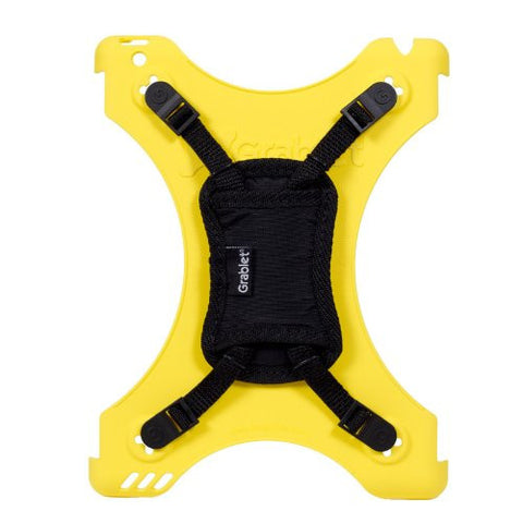 The Grablet, a Multi-Functional Accessory Case for iPad 2 and iPad 3 (Yellow)