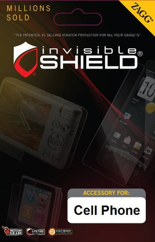 InvisibleShield for Kyocera Hydro - Screen - 1 Pack - Retail Packaging - Clear