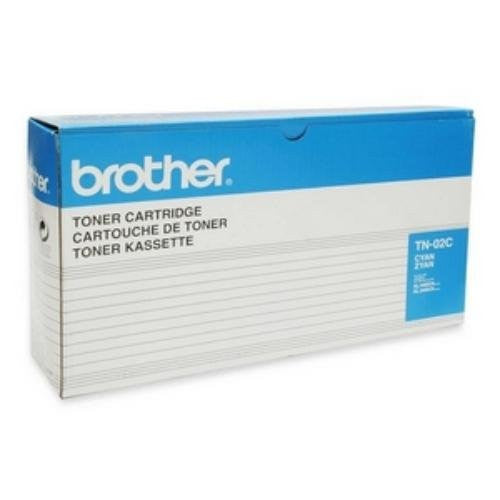 Brother TN02C Cyan Toner Cartridge for HL-3400CN, HL-3450CN