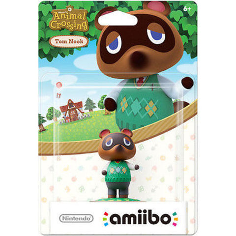 Nintendo Tom Nook amiibo Figure (Animal Crossing Series) NVLCAJAD