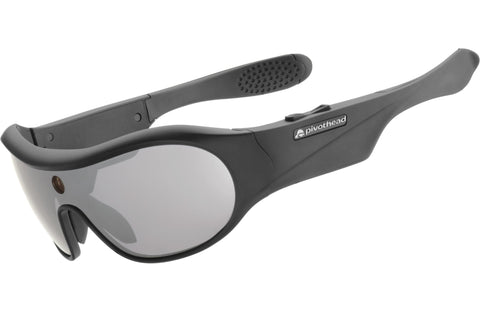 Pivothead Aurora Black Smoke BL07 Recording Sunglasses 1080p 8mp Camera