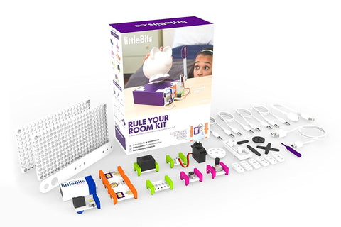 littleBits Rule Your Room Kit 680-0009-0000A Opened