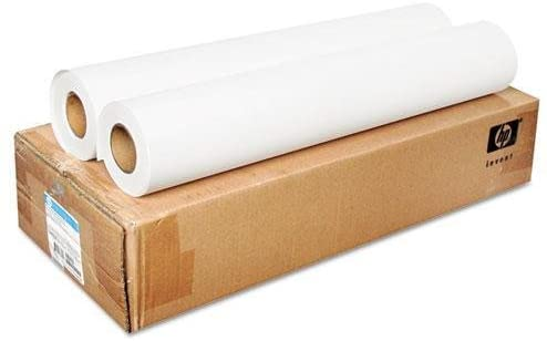 "HP Everyday Matte Polypropylene (24"" x 100' Roll, 2-Pack) CH022A"