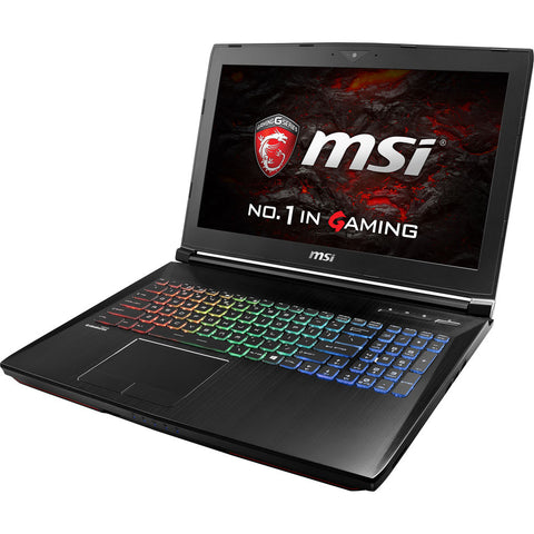 "MSI 15.6"" GT62VR Dominator Gaming Laptop i7 16GB Ram 1TB HD + 256GB SSD Win 10"