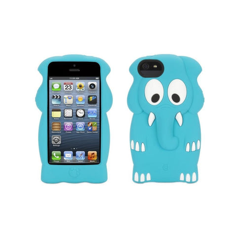 Apple Iphone 5 Griffin Kazoo Case - Blue Elephant - Retail Packaged