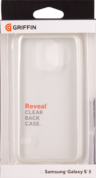 Griffin Reveal Case for Samsung Galaxy S5 - Retail Packaging - White