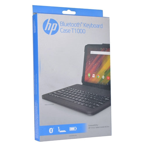 HP Bluetooth Keyboard Case T1000 Flyer Red Opened