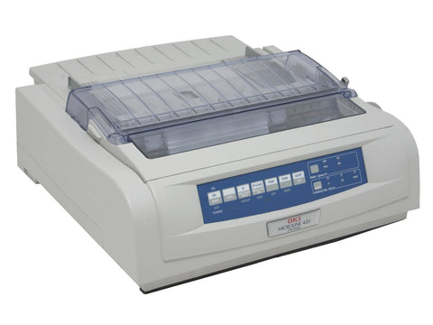OKI Data Microline 420 Black/White Dot Matrix Printer 62418702 230 Volt