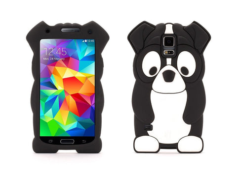 Galaxy S5 Griffin Kazoo Case - Black Boston Terrior - Retail Packaged