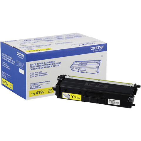 Brother Printer Ultra High-yield Toner Yellow, Yields approx. 9,000 pages TN439Y