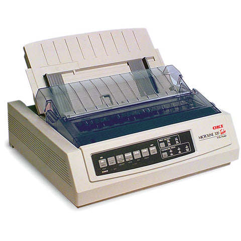 OKI MICROLINE 320 Turbo w/ RS-232C -220v Dot Matrix Printer 91907102