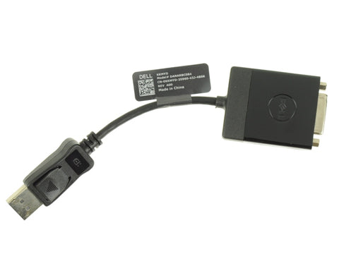 Dell DisplayPort to DVI Video Dongle Adapter Cable KKMYD