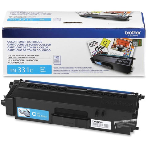 Brother TN331C Standard Yield Cyan Toner OEM Used
