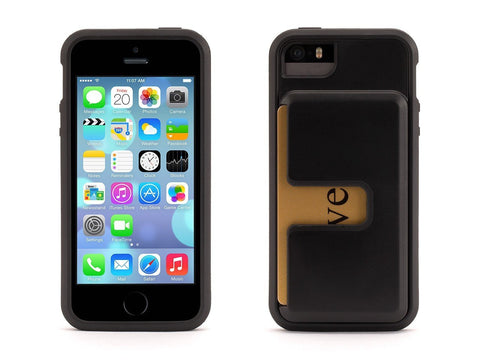 Apple Iphone 5 Griffin Identity Protective Case - Black - Retail Packaged