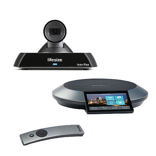 Lifesize Icon Flex Video Conferencing System Phone 1000-0000-1177 2nd Gen Opened