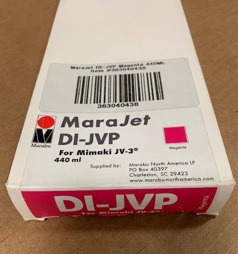 Marabu MARAJET DI-JVP 438 MAGENTA 440ML Ink Cartridge LOT OF 24 363040438