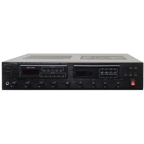 Speco Technologies 60W PA Amplifier with FM Tuner MP3 Ready CD Player P60FACD