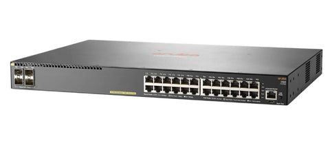 HPE Aruba 2540 24G PoE+ 4SFP+ - switch - 24 ports - managed - rack JL356A#ABA