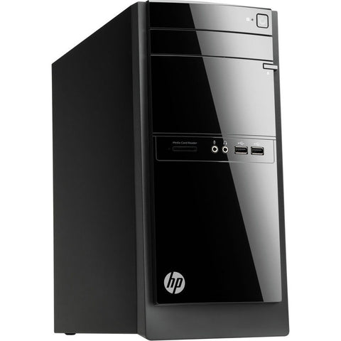 HP 110-210 Desktop Computer AMD Quad-Core A4-5000 4GB Ram 500GB HD Windows 8.1