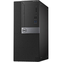 Dell OptiPlex 7040 Mini Tower Desktop i7 8GB 500GB HD AMD Radeon R5 340X Win 10