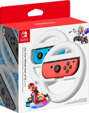 Nintendo Joy-Con Wireless Wheel (set of 2) for Nintendo Switch White HACABG2AB