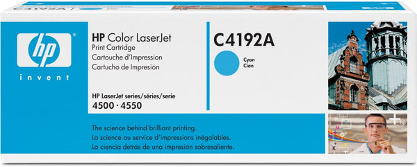 HP C4192A Cyan Original Toner Cartridge