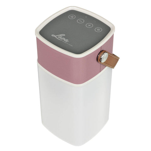 Lava BrightSounds Portable Bluetooth Speaker with Lantern Pink BT-LAMP-PK/US