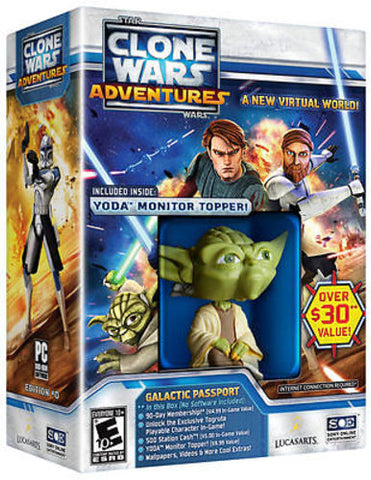 Star Wars Clone Wars Adventures: Galactic Passport Yoda