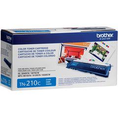 Brother TN210C Cyan Toner Cartridge Opened