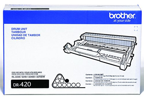 Brother DR420 Drum Unit Retail Packaging OEM