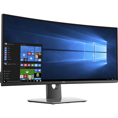 "Dell UltraSharp U3417W 34"" 21:9 Curved IPS Monitor Brown Box"