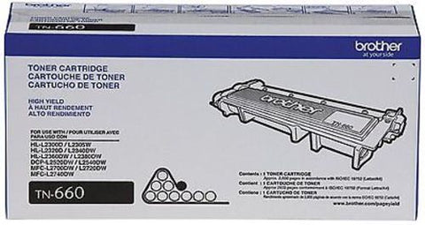 Brother Printer TN660 High Yield Toner