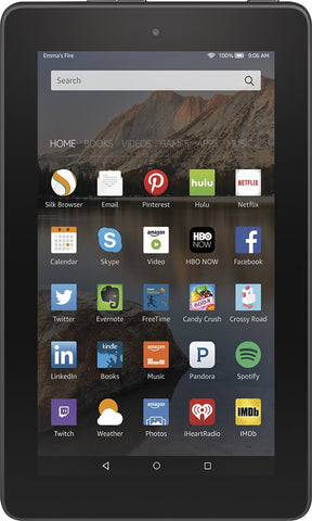 "Amazon Fire 7"" Tablet 8GB Black B00TSUGXKE 5th Generation"
