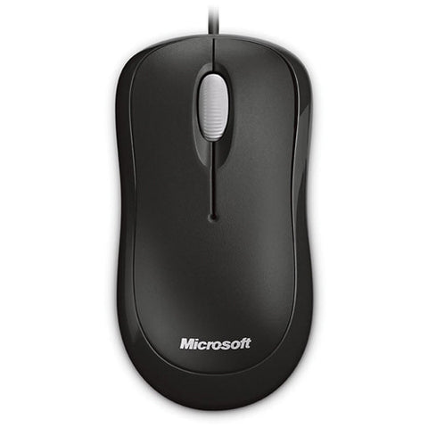 Microsoft Basic Optical Mouse for Business 4YH-00005 Black Bulk Packaging