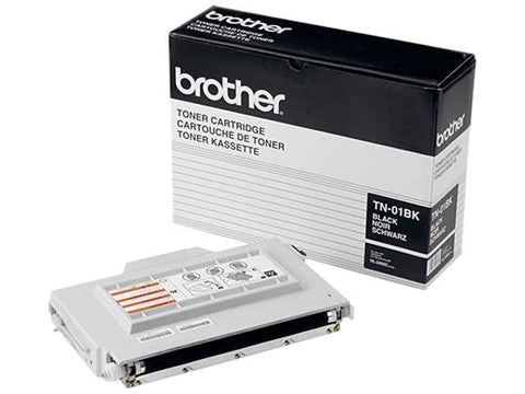 Brother TN01BK Black Toner Cartridge Opened