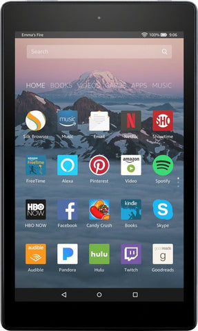 "Amazon - Fire HD 8 - 8"" - Tablet - 16GB 7th Generation, 2017 Release - Black"