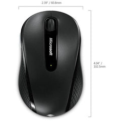 Microsoft Wireless Mobile Mouse 4000 for Business (Black)