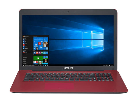"ASUS Laptop R753 X756UA-BB31-RD Intel i3 12GB Ram 1TB HD 17.3"" Windows 10 Home"