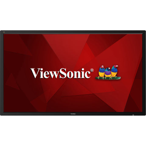 "ViewSonic CDE6510 65"" Class 4K UHD Commercial Display Refurbished"