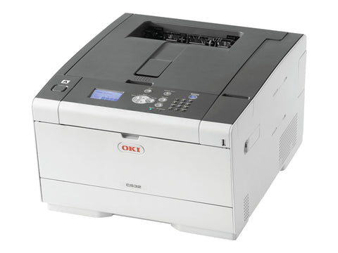 Okidata C532DN Duplex Color LED Laser Printer 62447101