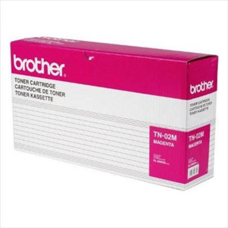 Brother TN02M Magenta Toner Cartridge for use with: HL-3400CN, HL-3450CN