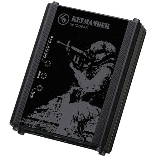 Iogear Keymander Controller Emulator For Ps3/ps4 & Xbox 360/one Game Console