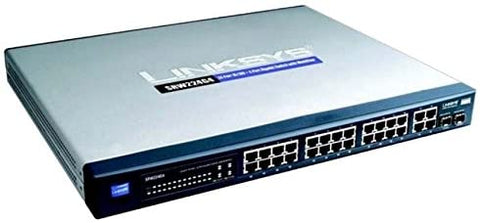 Cisco SRW224G4 24-port 10/100 + 4-port Gigabit Switch SF300-24