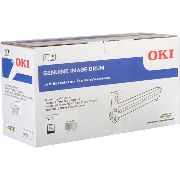 OKI 30K Black Image Drum for C831 & MC873 Printers 44844416