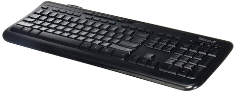 Microsoft Wired Keyboard 600 (Black) ANB-00001 Opened