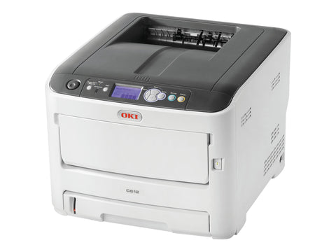 Okidata C612n (62447701) 1200 x 600 dpi USB / Ethernet Color Laser Printer