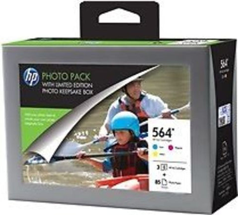 HP Photo Value Pack With Keepsake Box